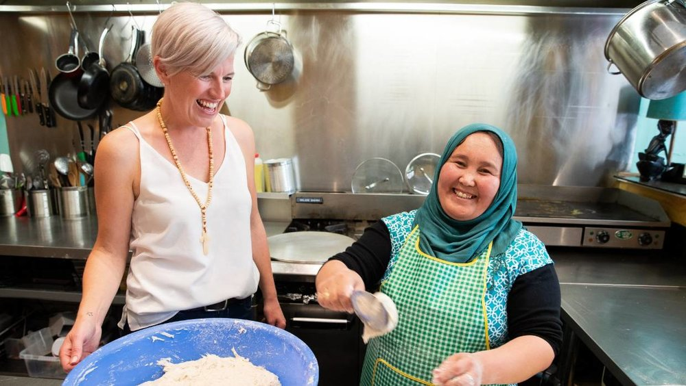 Home Kitchen aims to help Hamilton's former refugees - Waikato Times article, by Jo Lines-MacKenzie, Dec 07 2018While still in its infancy, the social enterprise aspires to become an authentic dining experience that will help refugees gain employment experience and get more involved in the Kiwi way of life.Home Kitchen is the brainchild of Tania Jones who was inspired while volunteering at a refugee camp in Greece last year.