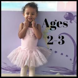 Fairy Ballet/Tap for 2-3 year old's at MFA Studios in Locust Grove, VA.