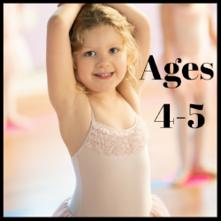 Fairy Ballet/Tap, Tumbling, Cheer for 4-5 year old's at MFA Studios in Locust Grove, VA.