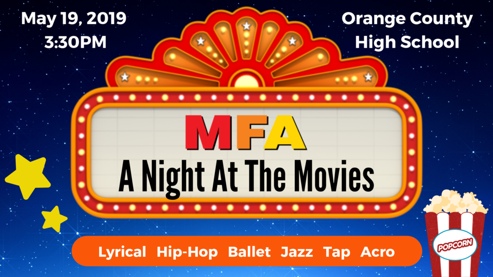 Spring Recital, A Night At The Movies.