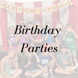 Birthday Parties for your child at MFA Studios