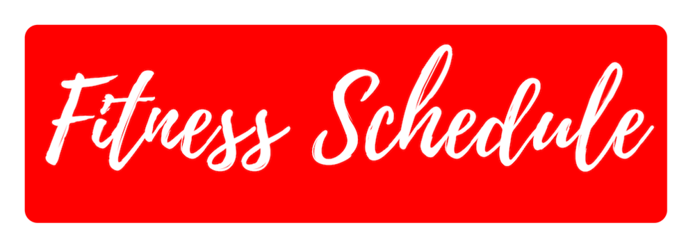 View our Fitness Schedule