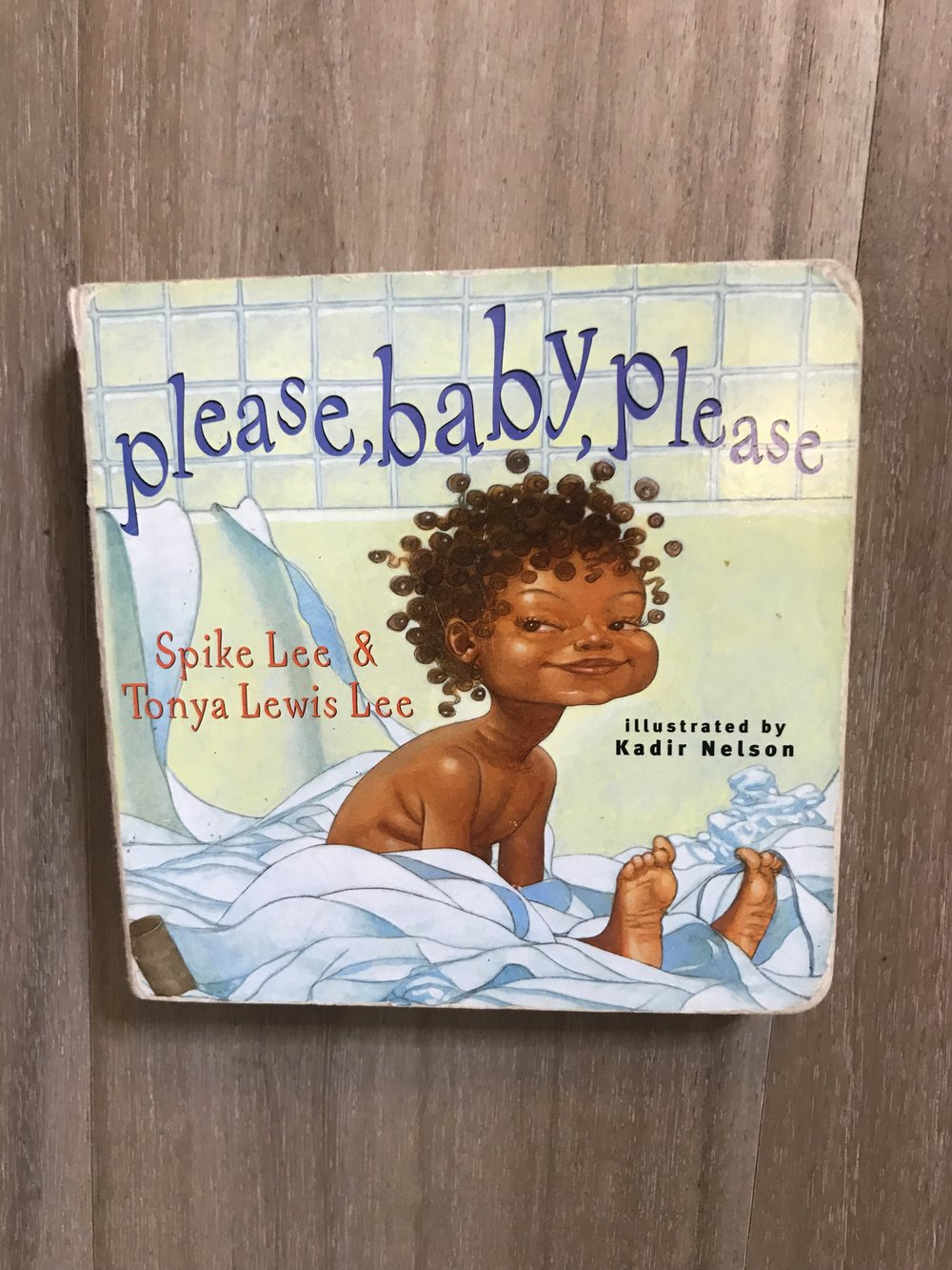 We received this book as a gift when Elle was a baby. This is a HWTH fave!!