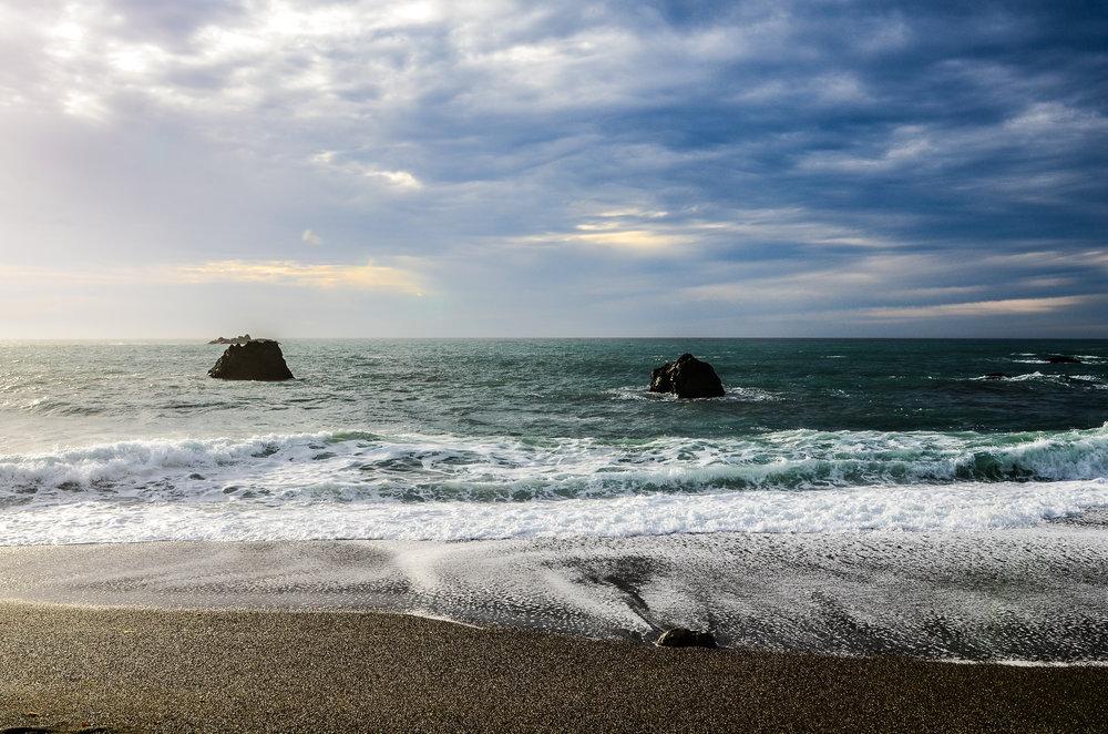 Blends of Blue ♥ Sonoma Coast ♥ California