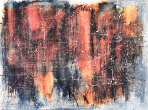 Fernando Zobel, 'Saeta 52', 1958, oil on canvas, 91 x 122 cm. Image courtesy of Leon Gallery.