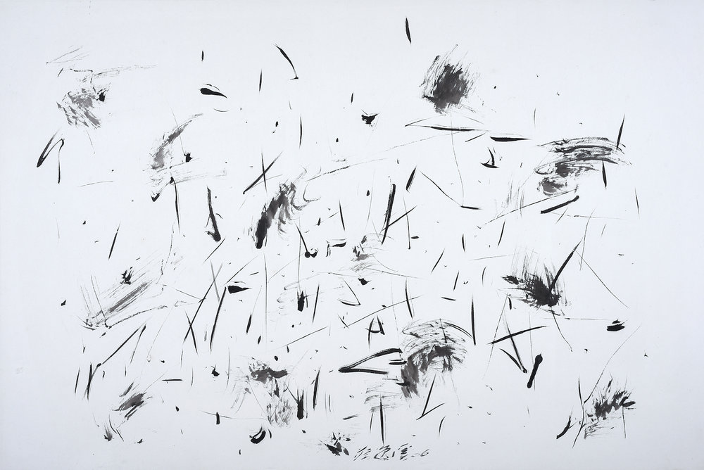 Chua Ek Kay, 'Lotus Pond' Series, 2006, ink on paper, 99 x 146 cm. Image courtesy of Art Agenda, S.E.A.