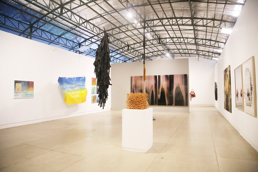 Selasar Sunaryo Art Space,' SSAS/AS/IDEAS: In Collaboration with 20 Artists', Exhibition installation photo. Image courtesy of Selasar Sunaryo Art Space.