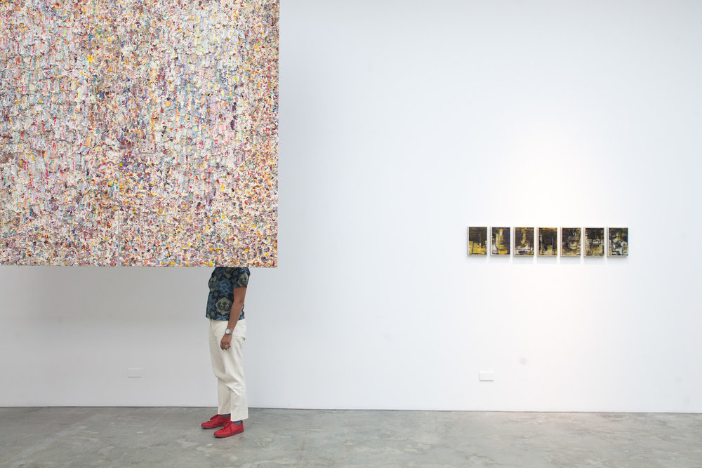 'Painting, Differently', 2018, gallery installation view. Image courtesy of Silverlens.