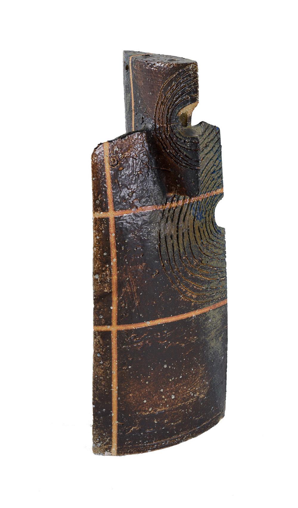 Iskandar Jalil, 'Wedge', stoneware, 46 x 19.5 x 14.5cm. Image courtesy of 33 Auction.