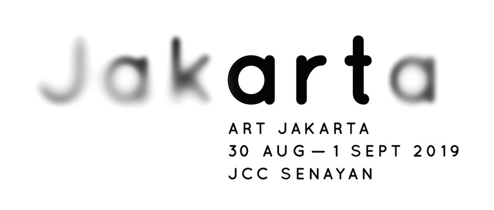The new Art Jakarta logo, heralding changes for the fair as it enters its second decade.