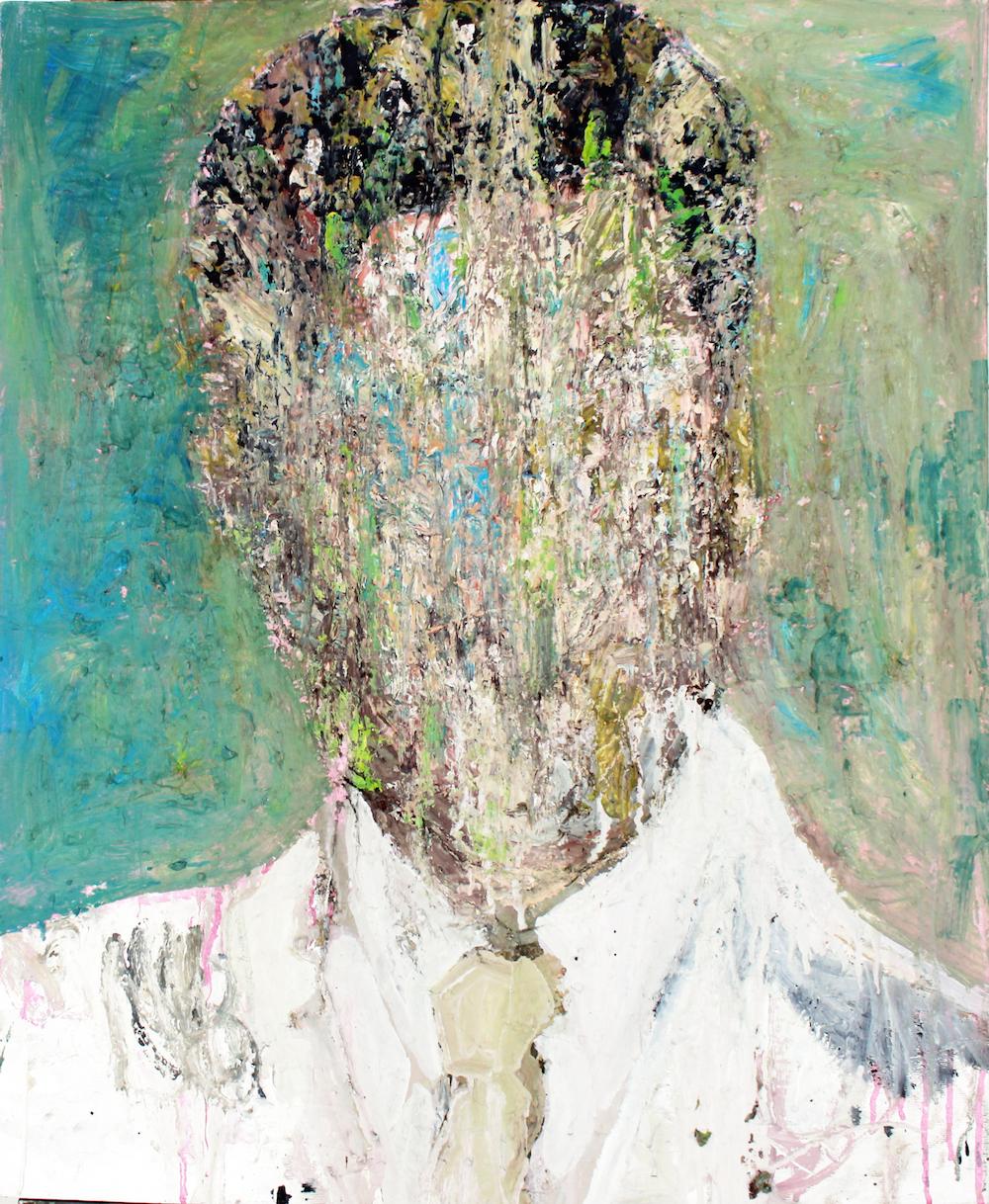 Maya Muñoz, 'Andrew, American Dream', 2018, oil on canvas, 76 x 64cm. Image courtesy of the artist and Yavuz Gallery.
