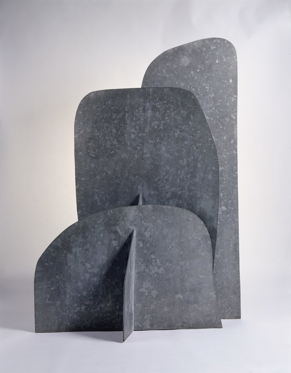 Isamu Noguchi, 'Cloud Mountain', 1982-1983, hot-dipped galvanised steel, 177.2 x 125.1 x 71.8cm. © The Isamu Noguchi Foundation and Garden Museum, New York / ARS. Photo: Kevin Noble.