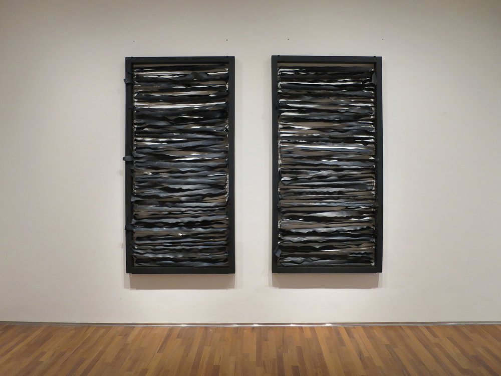Roberto Chabet, 'Kite Traps', 1973, remade 2015, wood and rubber, 2 parts, each 183 x 92 cm. Collection of Carmen Mesina. Image courtesy of National Gallery Singapore.