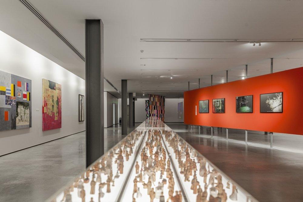 'DIASPORA: Exit, Exile, Exodus of Southeast Asia' (2018). Image courtesy of MAIIAM Contemporary Art Museum, Chiangmai, Thailand.