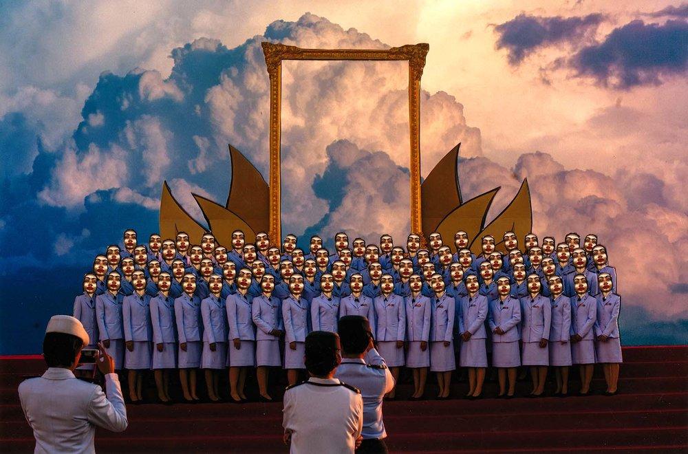 Harit Srikhao (b. 1995, Thailand), 'Heaven Gate, from Whitewash Series', 2015-16, digital photograph, 64 x 100.3cm. Image courtesy of Gallery VER, Bangkok.