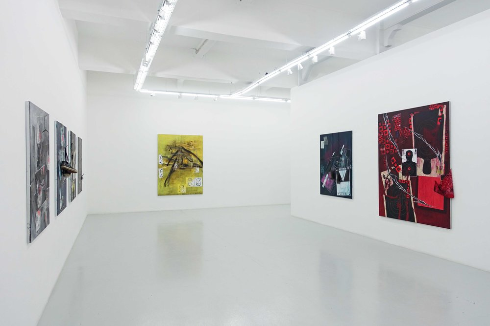 'SWEET DREAMS', 2019, exhibition installation view. Image courtesy of the artist and Yavuz Gallery.