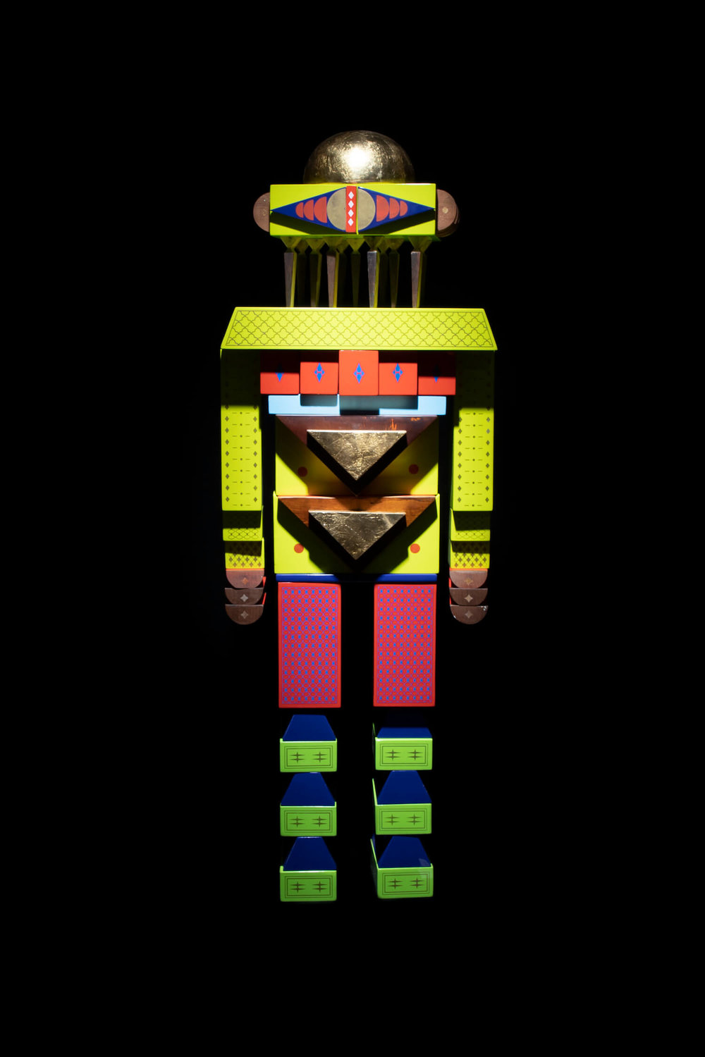 Design by Reborn, 'ilo the 5 headed synthetic dreamer', 2019. Image courtesy of Vin Gallery.