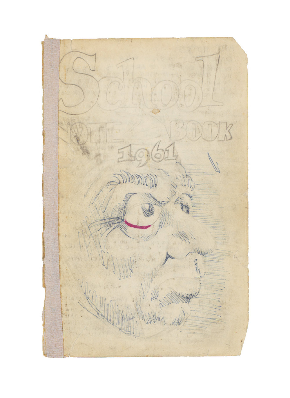 Robert Crumb, 'Untitled (School Notebook 1961 pg. 3/4', 1961. Image courtesy of the artist, Paul Morris, and David Zwirner.
