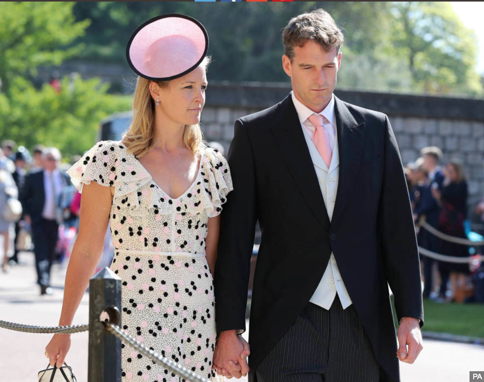 Lady Edwina Louise Grosvenor and Dan Snow