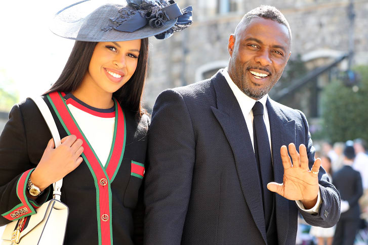 Sabrina Dhowre and Idris Elba 2