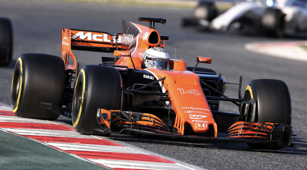 McLaren MCL32 Formula 1 bolid