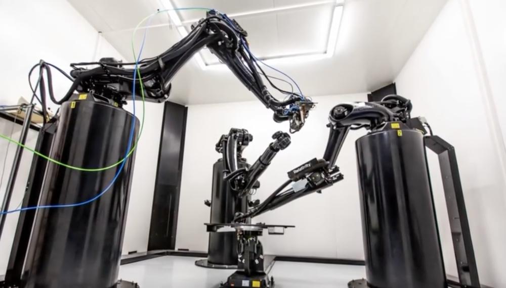 Robotske ruke koje omogućuju 3D ispis velikih dimenzija, izvor: Relativity