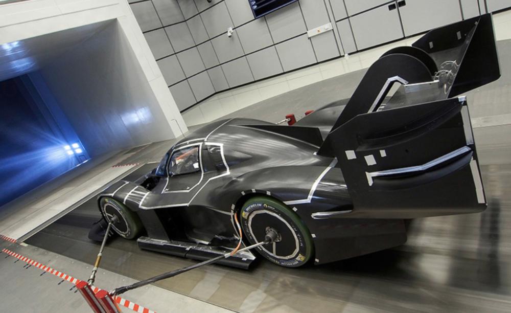 1:2 model za potrebe testiranja u zračnom tunelu, izvor: Volskwagen