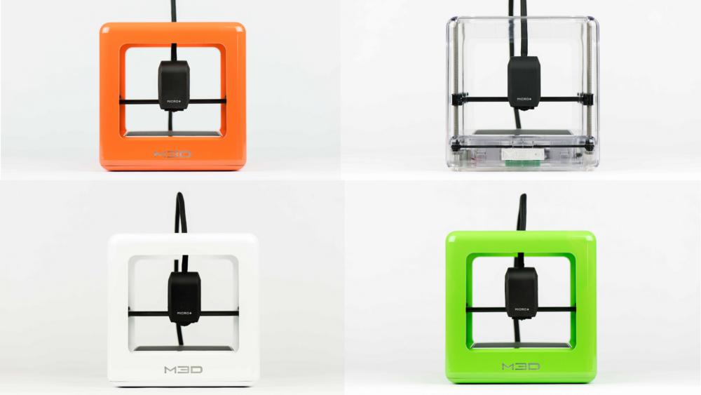 M3D Micro + 3D pisač, prozirno, narančasto, bijelo i zeleno kučište - Cijena (sa PDV-om): 2150,00kn