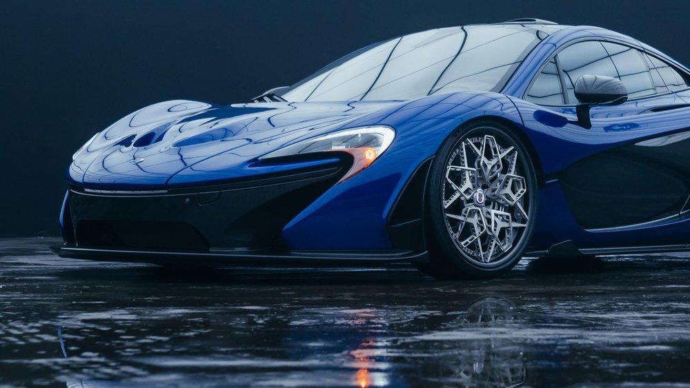Hre + 3D ispisani naplatak na McLaren-u P1, izvor: HRE Wheels