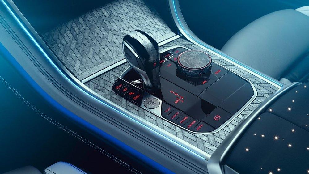 Interijer 850i Night Sky - izvor: BMW
