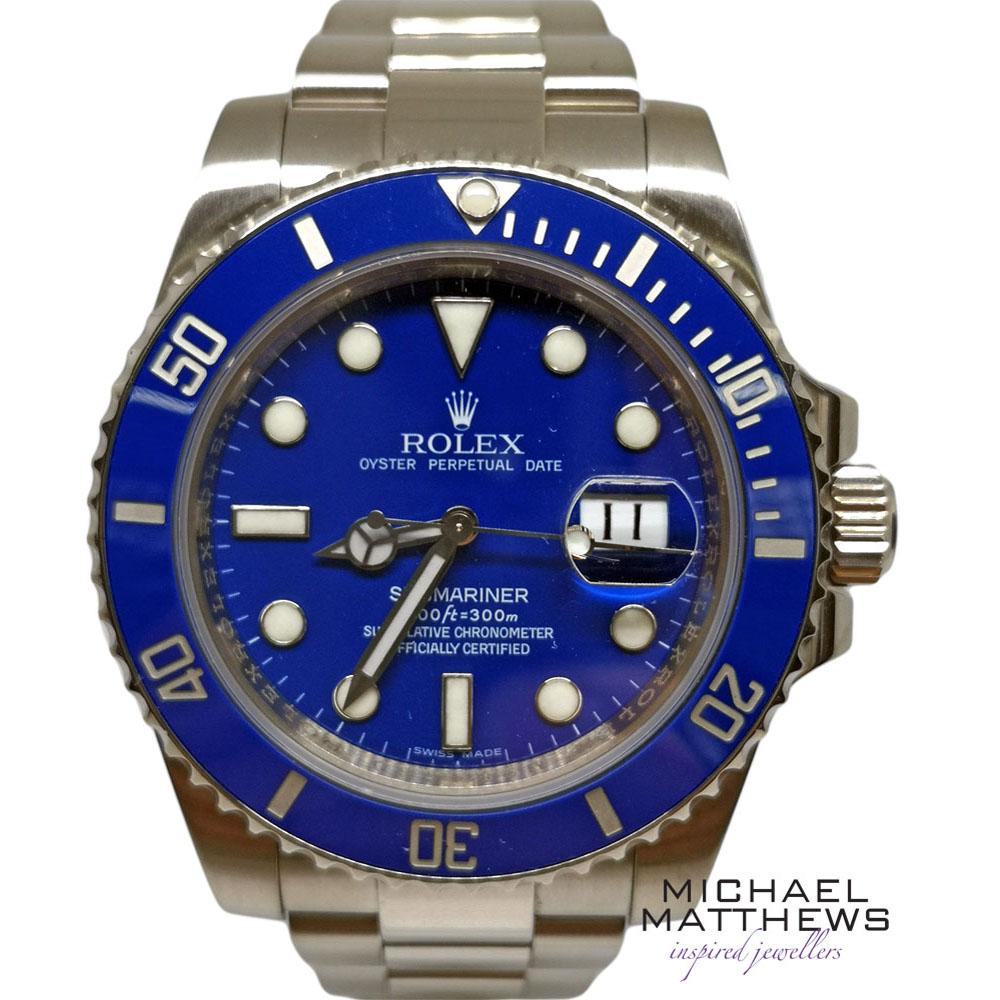 c9d984add8c Rolex Submariner Watch — Michael Matthews Jewellery - Bournemouth & Fareham  Jewellers