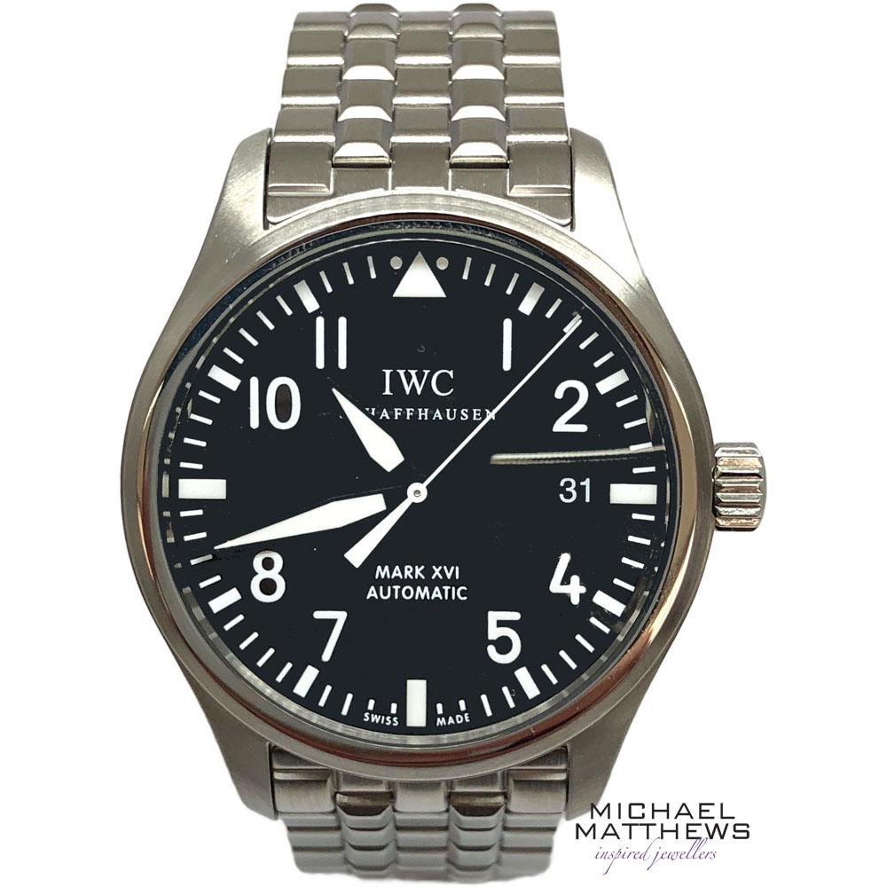 e84ef459dacb IWC Pilot Mark XVI Watch — Michael Matthews Jewellery - Bournemouth ...