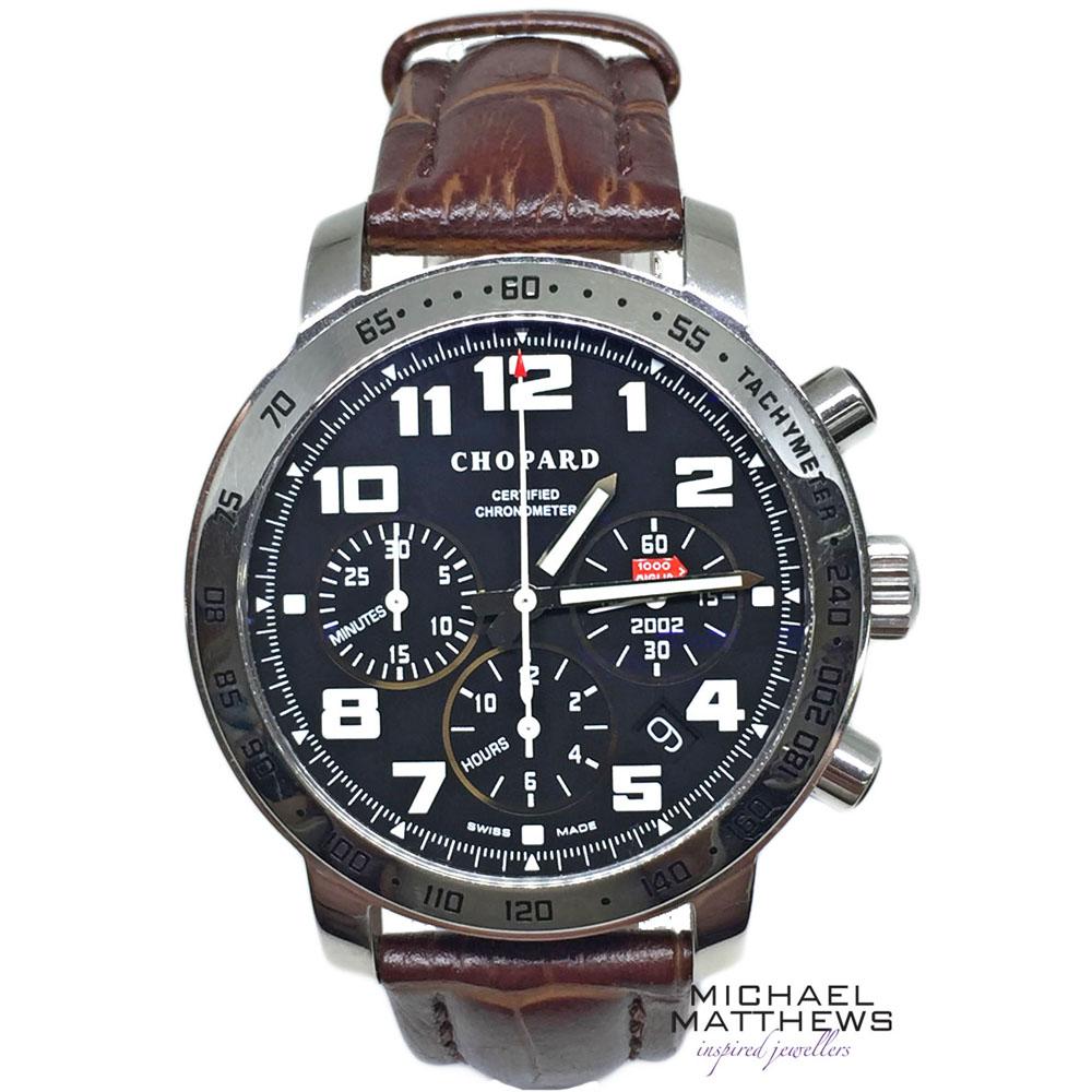 ed28971a682 Chopard Mille Miglia Watch — Michael Matthews Jewellery - Bournemouth & Fareham  Jewellers