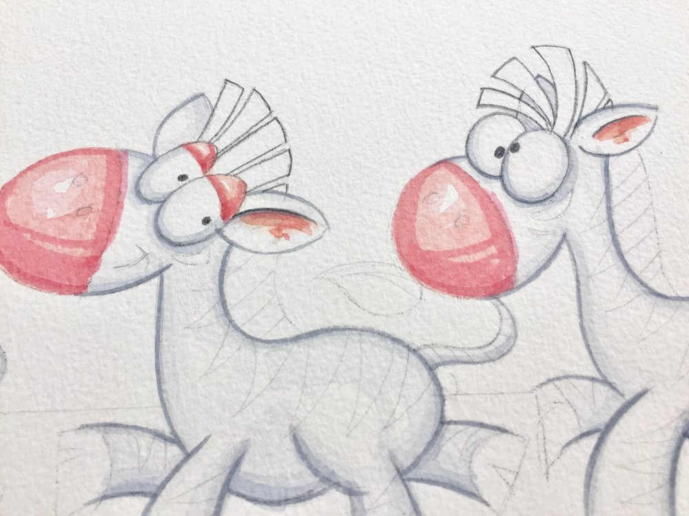 Funny little zebras   Clippity clop, hoppity hop, bouncity bop :)