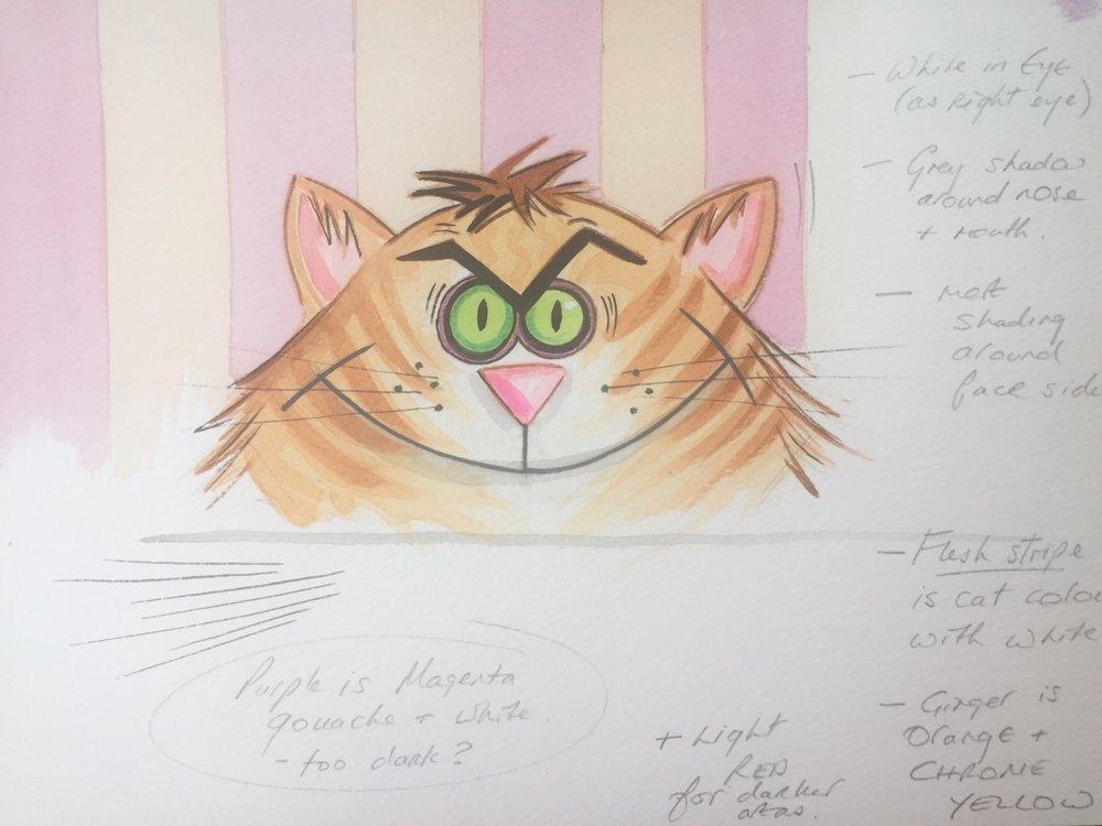 Nosy Parker   Sketchy furball – meeooow!
