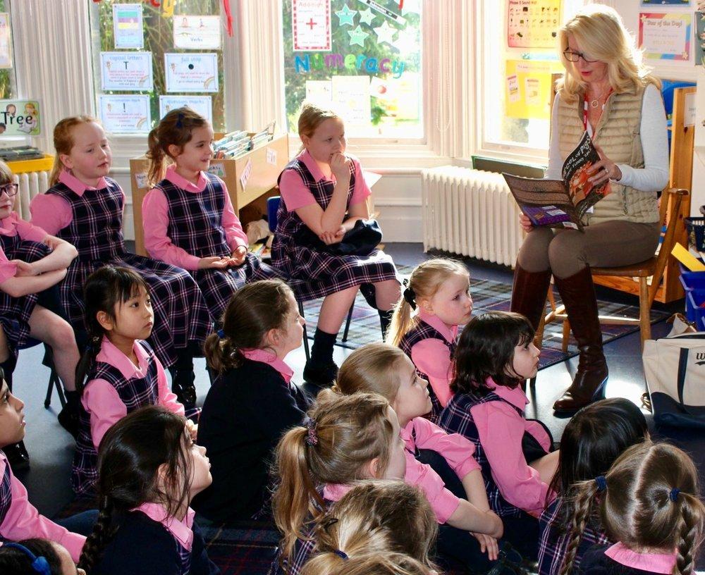 School Readings at Bow Durham School, UK