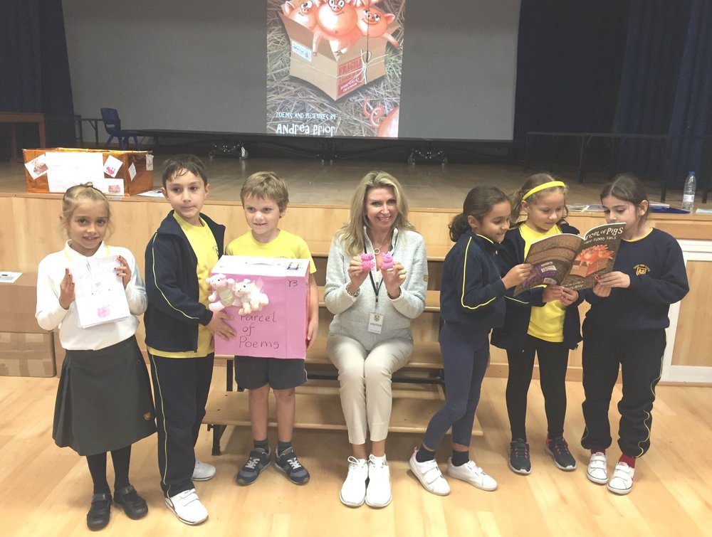 Author Visit, Sunny View School, Torremolinos, Spain