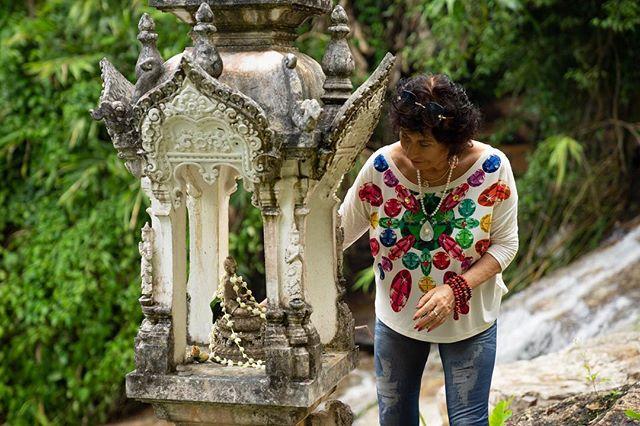 Blessings for Mama Kwan Yin. #LifeEvents #ChiangMai