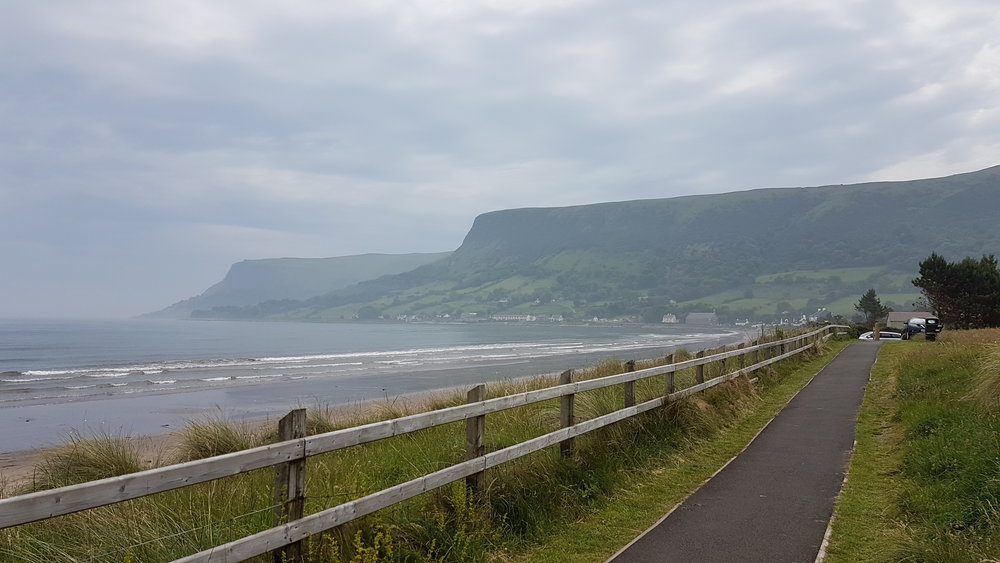 Waterfoot Beach, Co. Antrim