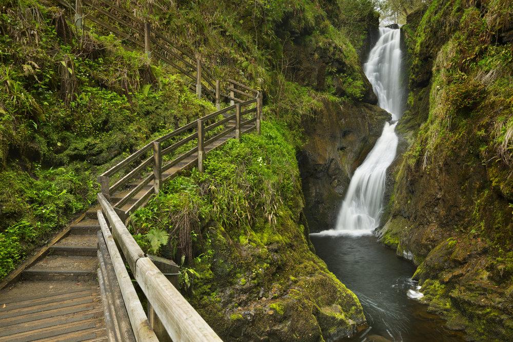 Ess-Na-Laragh waterfall Glenariff