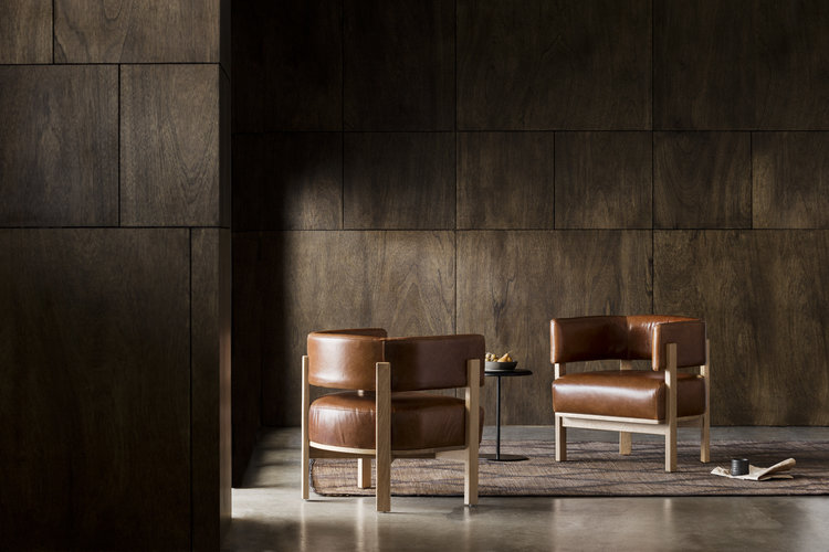 Pictured: Flow armchair by anaca studio.