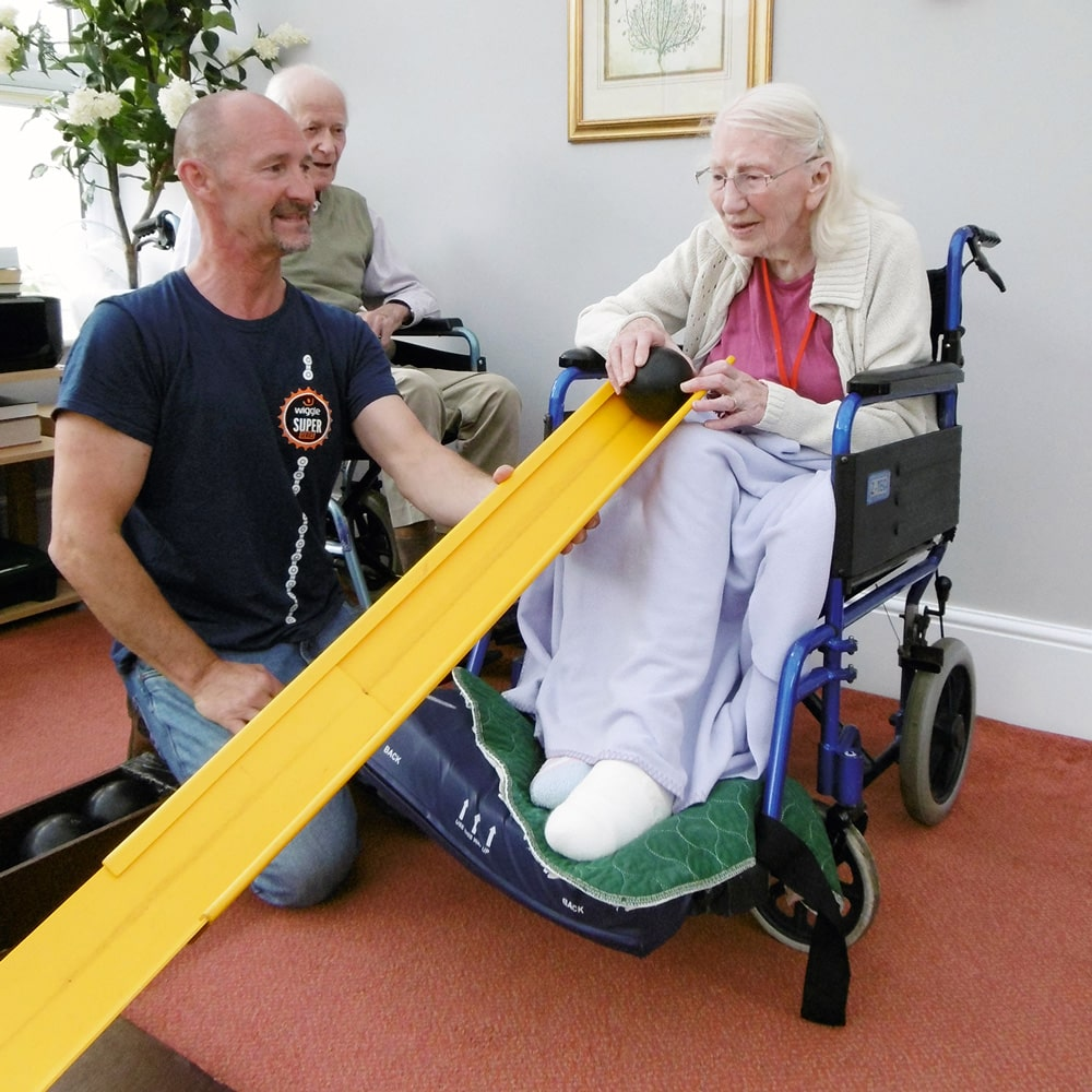 Activities - We frequently offer a variety of activities for our residents which are inclusive for all abilities. Activity leaders visit the home most afternoons and our list of activities is ever expanding with new suggestions from residents all the time.To learn more visit our Activities Page →