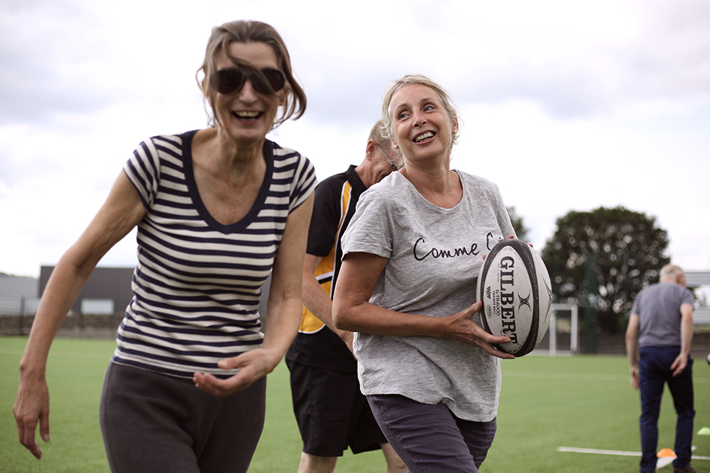 Walking Rugby - Light-hearted exercise for all ages and abilties. Join us at 2pm on Wednesdays, no need to book. Call 01539 734039 for info.