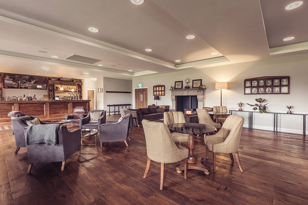 The Lounge - Our very spacious Lounge is perfect as a relaxed break-out space, welcome area and social dining and bar area. It can also be cleared and combined with the Kentdale Suite for maximum flexibility, sharing direct access to our large covered balcony.