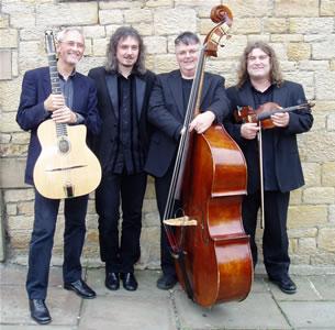 Hotcha 'swing jazz' quartet will be performing for Kendal Jazz Club at Mintbridge Kendal.