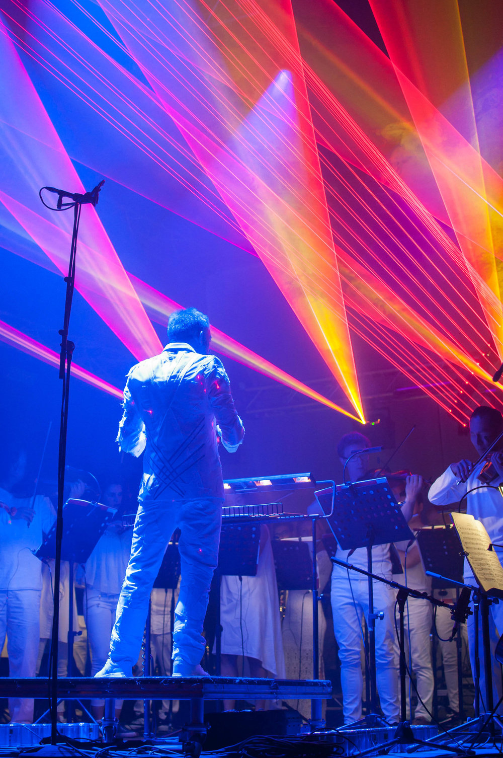 Philip Glass Heroes Symphony, Glastonbury Festival, Headline Performance 2016
