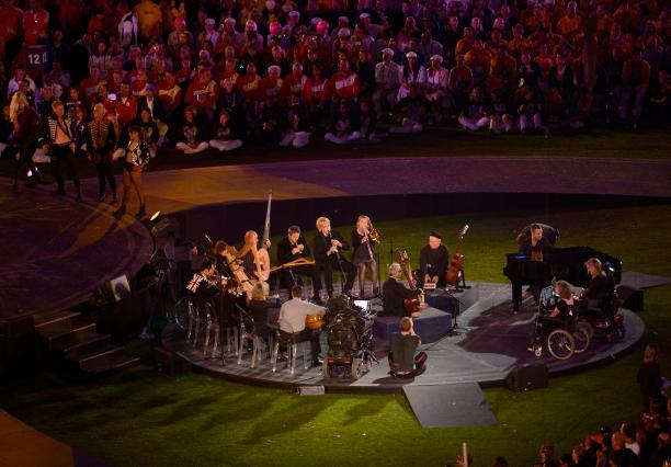 Closing ceremony of the 2012 Paralympics