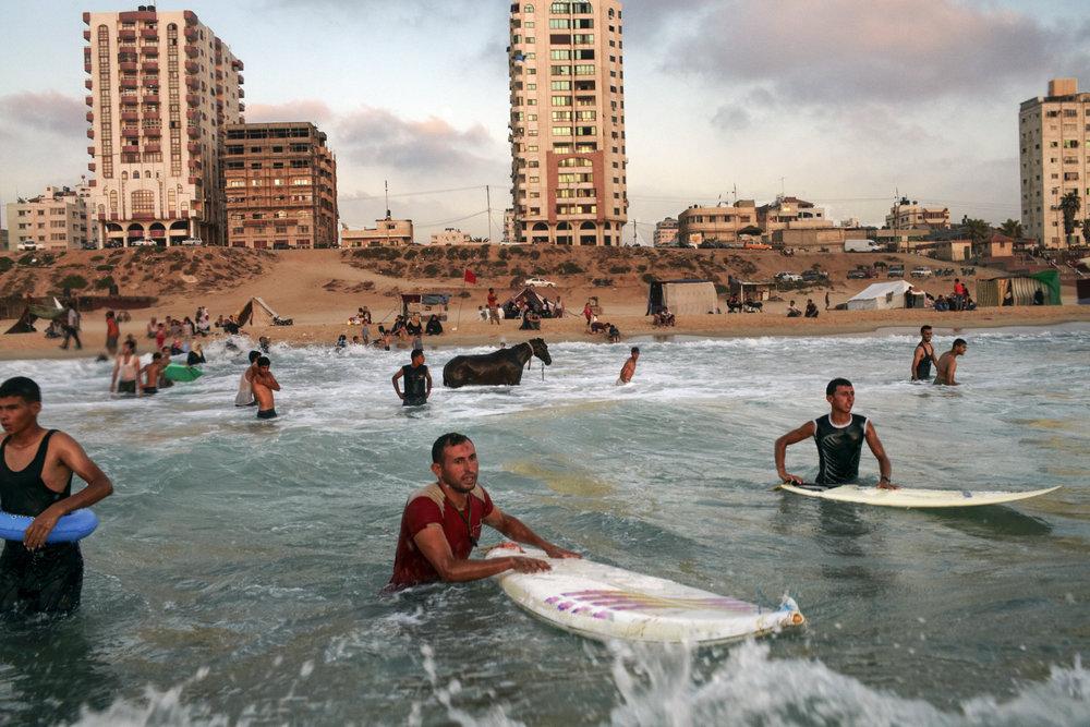 Fra dokumentaren  Gaza , en viktig film om mennesker vi altfor sjelden ofrer en tanke. FOTO: Arabiske filmdager