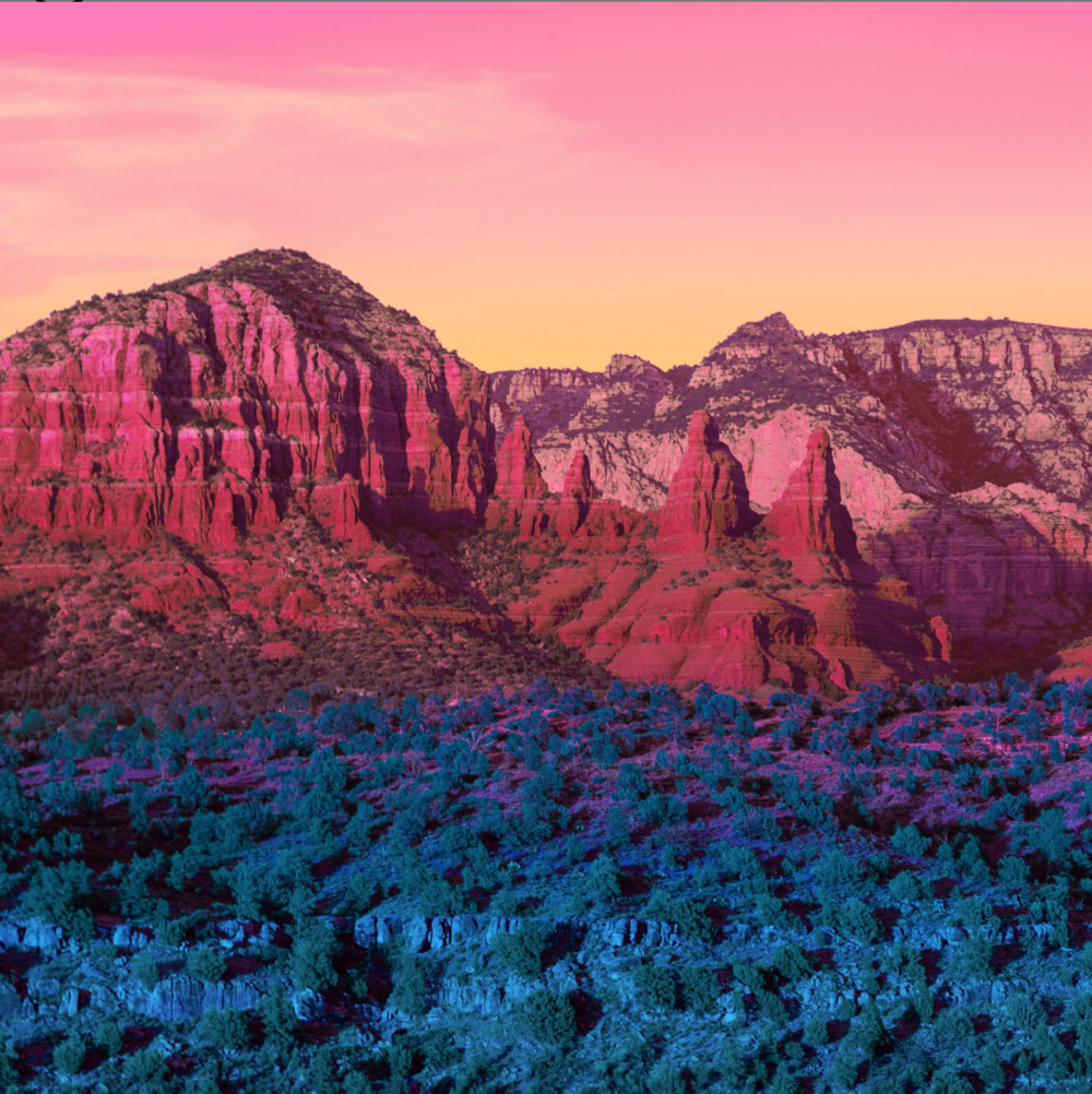 Red Rock   by  Mischelle Moy, 2018