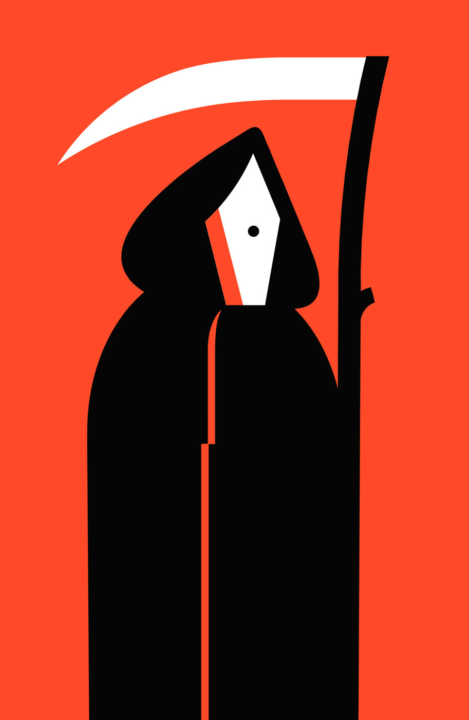 Macat - Cover illustration for Macat's edition of The Death of the Author by Roland Bartes